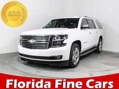 Used CHEVROLET SUBURBAN 2015 HOLLYWOOD LTZ