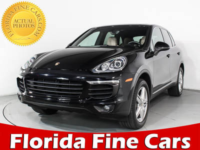 Used PORSCHE CAYENNE 2016 HOLLYWOOD