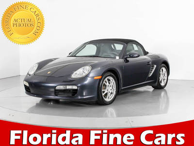 Used PORSCHE BOXSTER 2007 WEST PALM