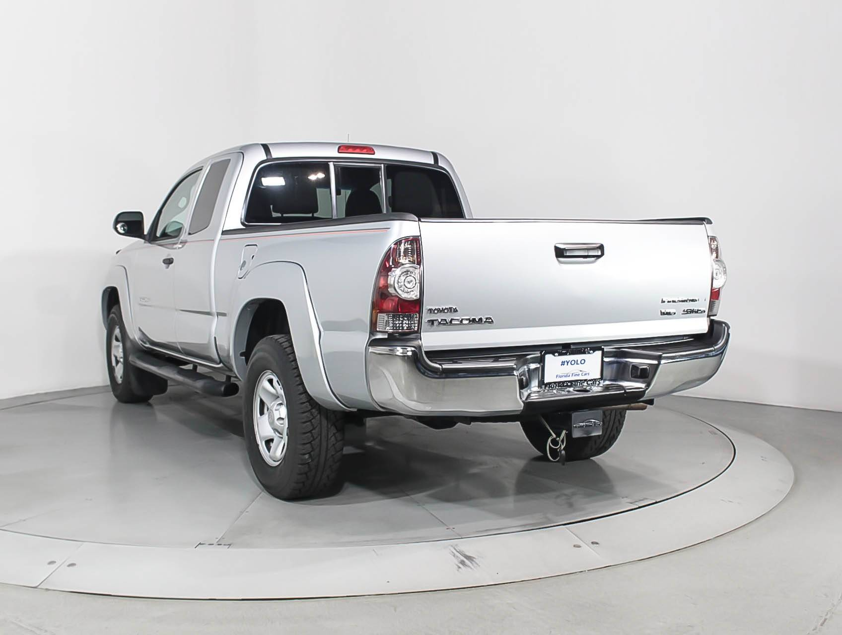 used 2012 toyota tacoma prerunner sr5 truck for sale in miami fl 93266 florida fine cars. Black Bedroom Furniture Sets. Home Design Ideas