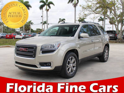 Used GMC ACADIA 2015 MARGATE SLT1