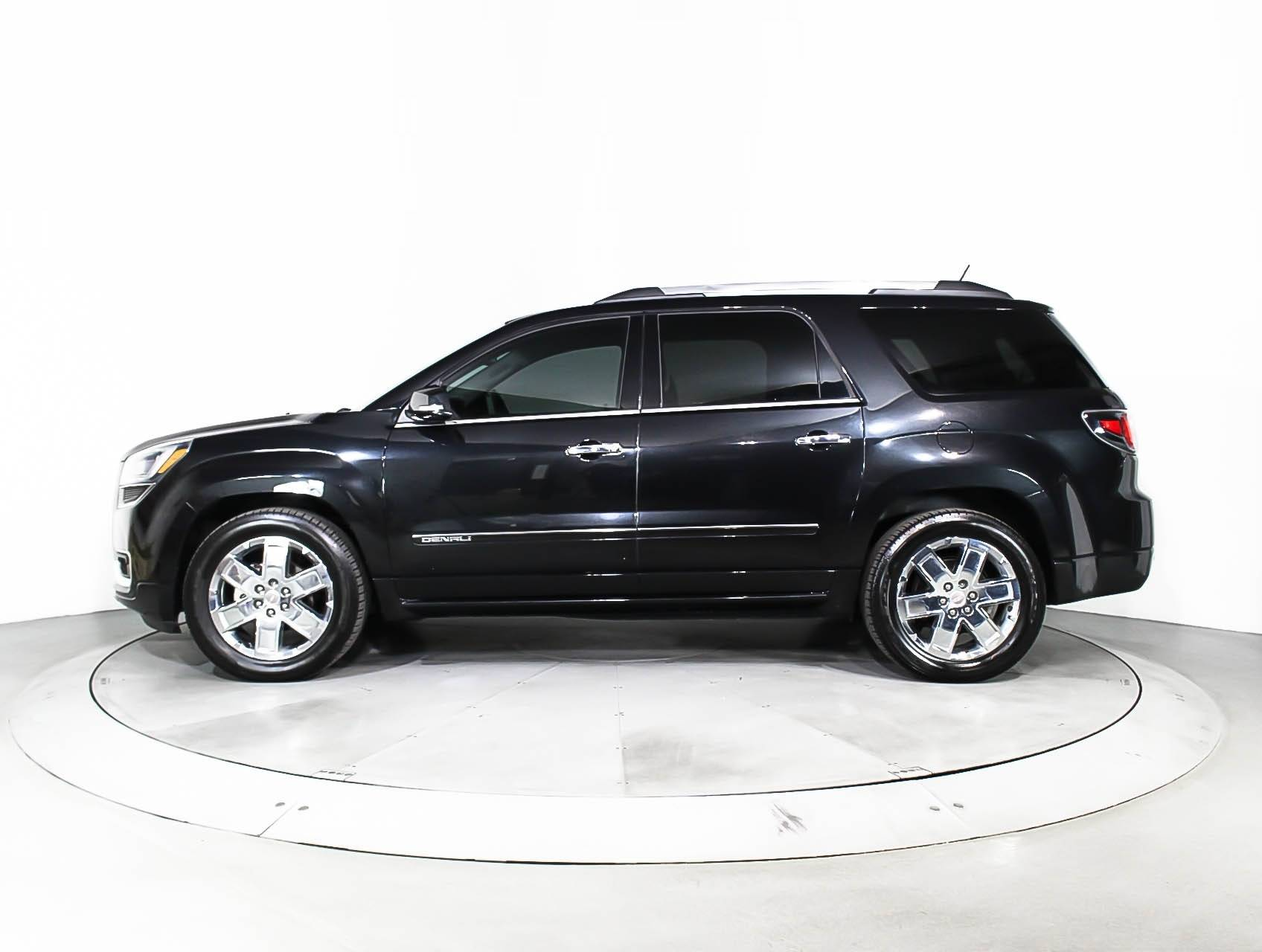 Used 2014 Gmc Acadia Denali Suv For Sale In Hollywood Fl 93300 Florida Fine Cars