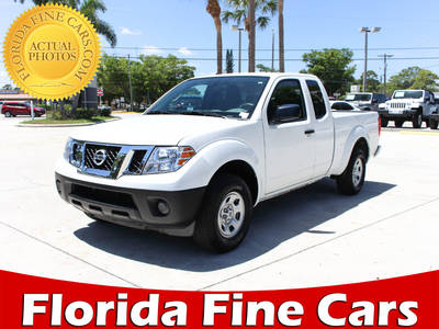 Used NISSAN FRONTIER 2017 WEST PALM S Extended Cab