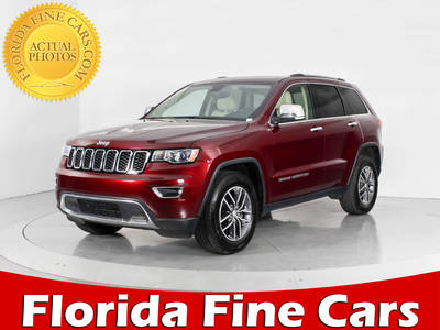 Used JEEP GRAND-CHEROKEE 2017 WEST PALM LIMITED