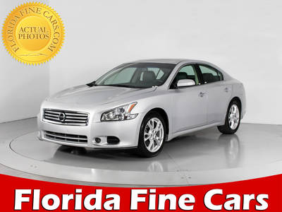 Used NISSAN MAXIMA 2014 WEST PALM 3.5 Sv