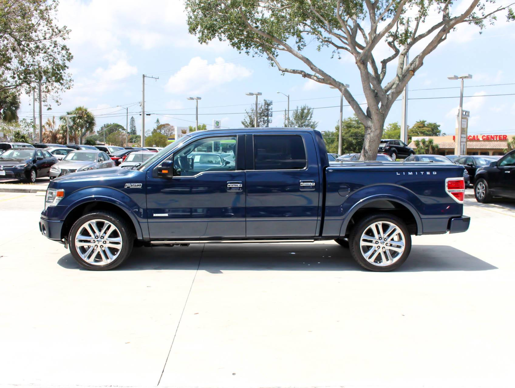 2014 Ford F150 For Sale >> Used 2014 Ford F 150 Limited Truck For Sale In West Palm Fl 93375