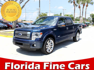 Used FORD F-150 2014 WEST PALM Limited
