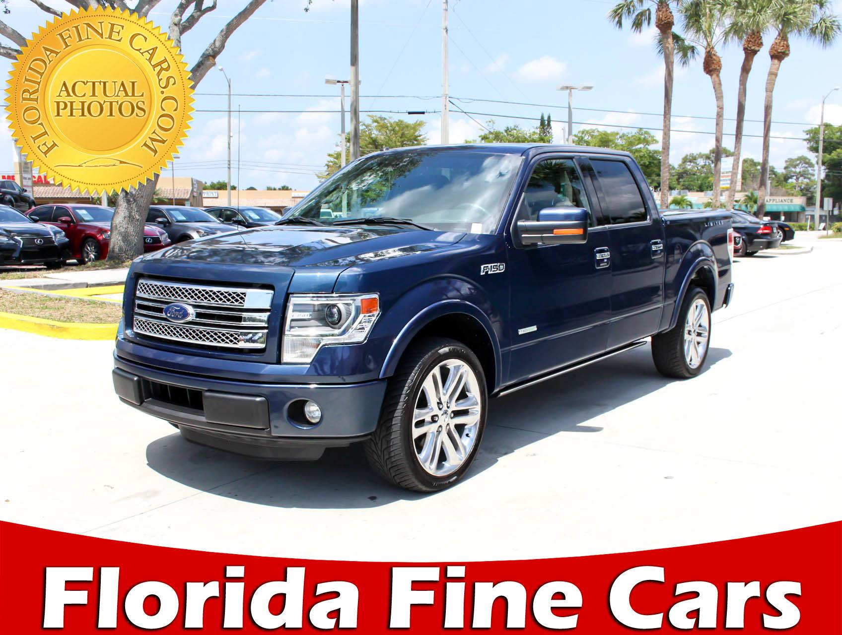 Used 2014 FORD F 150 Limited Truck for sale in WEST PALM FL