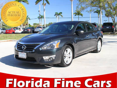 Used NISSAN ALTIMA 2015 MARGATE 2.5 Sl