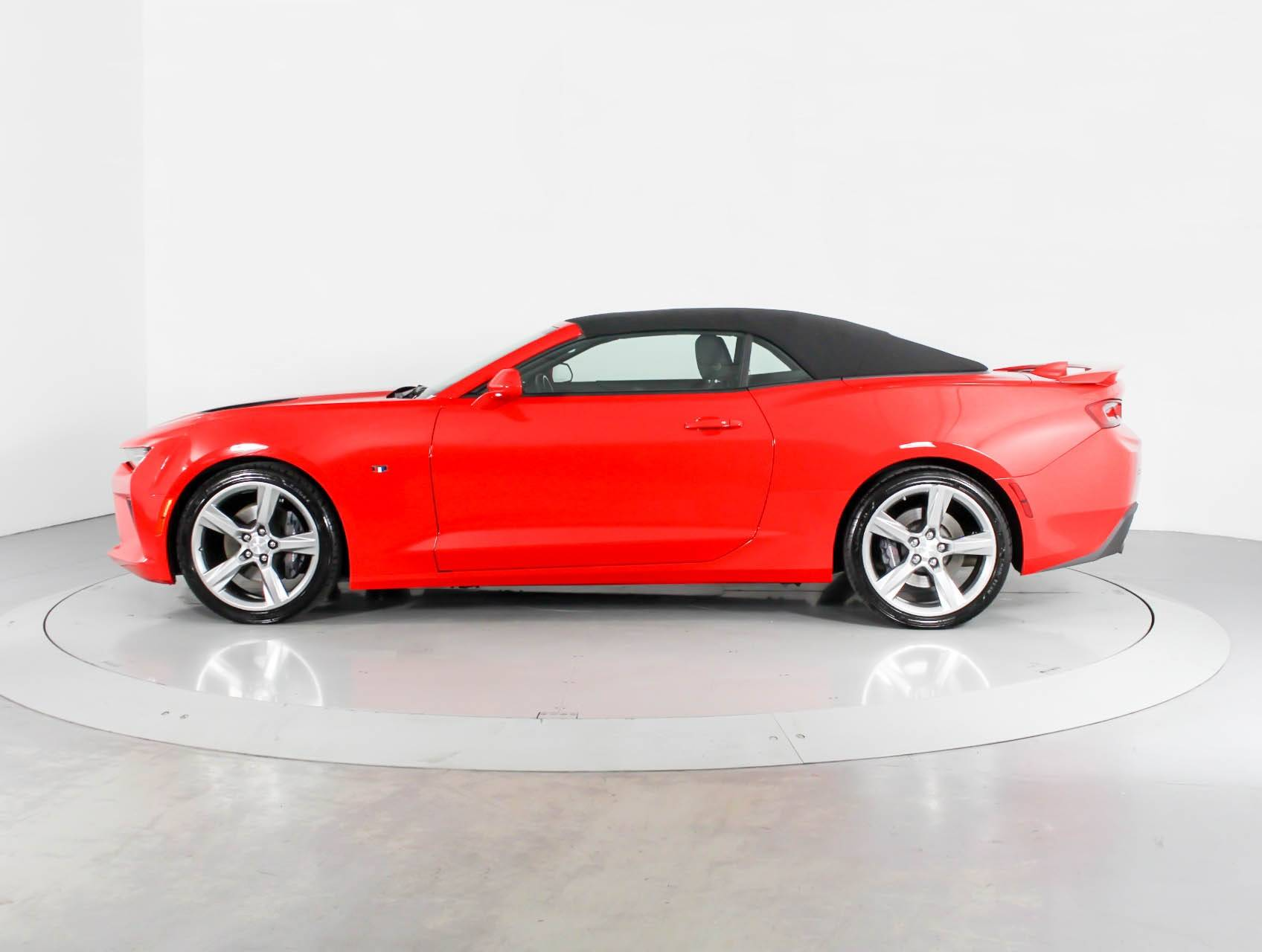 Used 2017 Chevrolet Camaro 1ss Convertible For In West Palm Fl 93444 Florida Fine Cars
