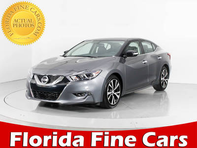 Used NISSAN MAXIMA 2017 WEST PALM Sv
