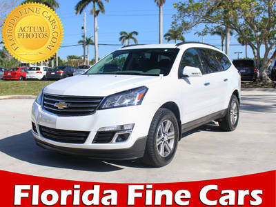 Used CHEVROLET TRAVERSE 2016 MARGATE 1LT