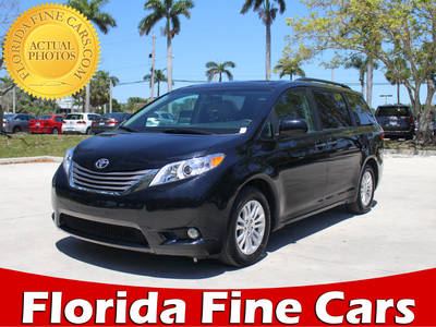 Used TOYOTA SIENNA 2017 MARGATE Xle