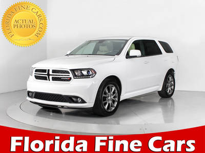 Used DODGE DURANGO 2017 WEST PALM Gt