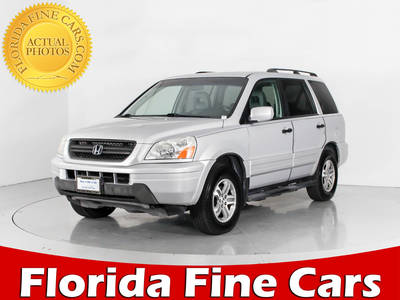 Used HONDA PILOT 2004 WEST PALM Exl 4x4