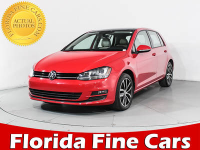 Used VOLKSWAGEN GOLF 2015 MIAMI Se