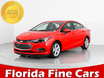 Used CHEVROLET CRUZE 2017 WEST PALM PREMIER