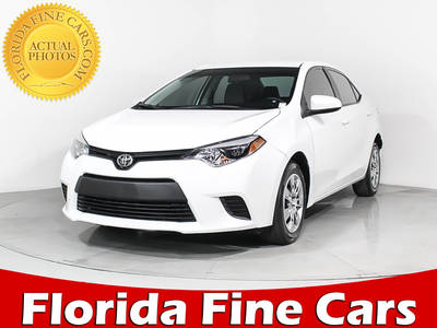 Used TOYOTA Corolla 2016 HOLLYWOOD L