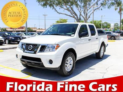 Used NISSAN FRONTIER 2017 WEST PALM Sv 4x4 Crew Cab
