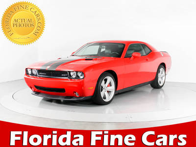 Used DODGE CHALLENGER 2010 WEST PALM SRT-8