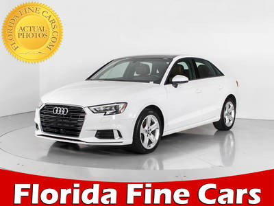 Used AUDI A3 2017 WEST PALM PREMIUM