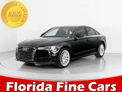 Used AUDI A6 2016 WEST PALM PREMIUM PLUS