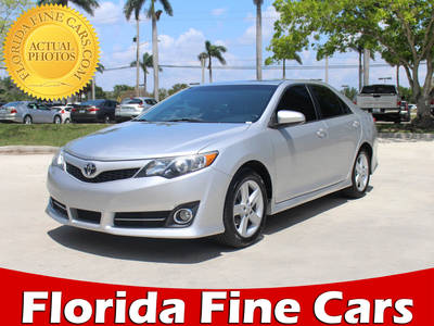 Used TOYOTA CAMRY 2012 MIAMI Se