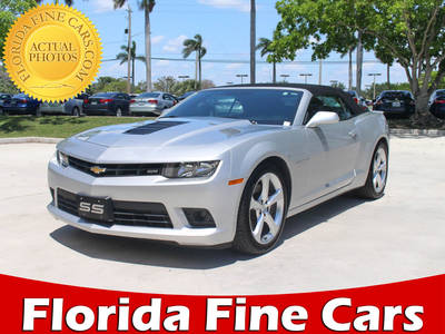 Used CHEVROLET Camaro-Convertible 2015 MIAMI 2ss