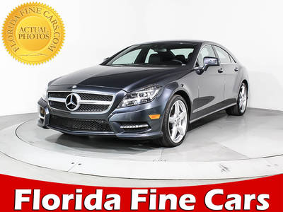 Used MERCEDES-BENZ CLS-CLASS 2014 MIAMI CLS550