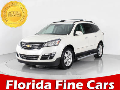 Used CHEVROLET Traverse 2015 WEST PALM LTZ