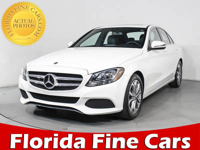 Used MERCEDES-BENZ C-CLASS 2018 WEST PALM C300