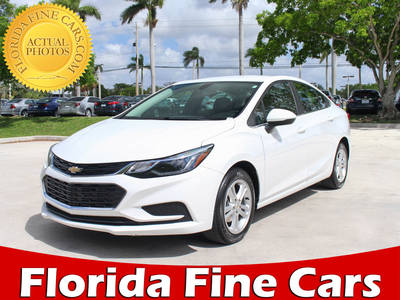 Used CHEVROLET CRUZE 2017 MARGATE LT