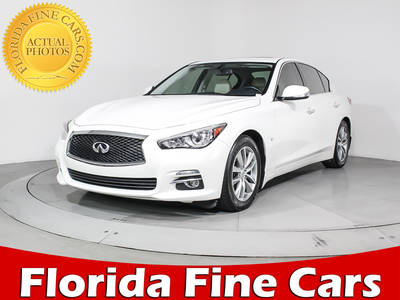 Used INFINITI Q50 2014 MIAMI Technology Pack