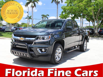 Used CHEVROLET COLORADO 2017 MARGATE LT