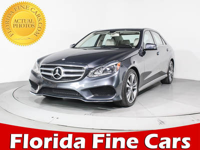 Used MERCEDES-BENZ E-CLASS 2016 HOLLYWOOD E350