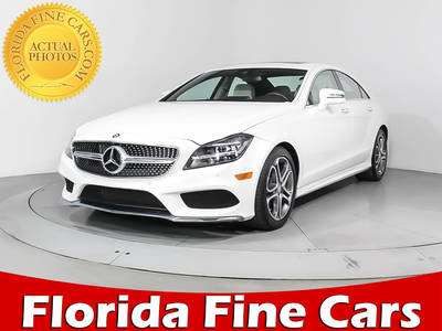 Used MERCEDES-BENZ CLS-CLASS 2015 WEST PALM CLS400