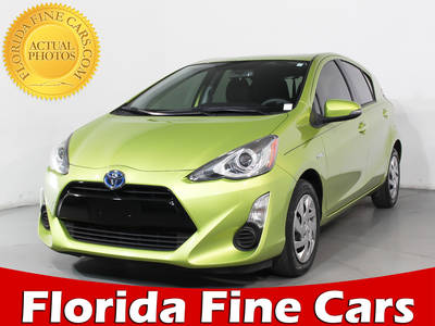 Used TOYOTA PRIUS-C 2015 HOLLYWOOD 2