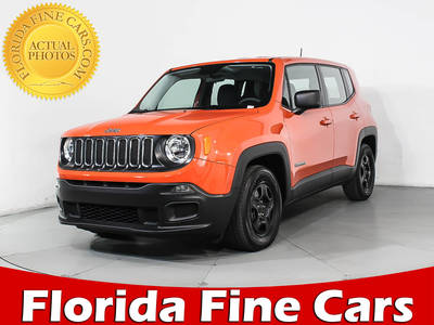 Used JEEP RENEGADE 2017 HOLLYWOOD SPORT