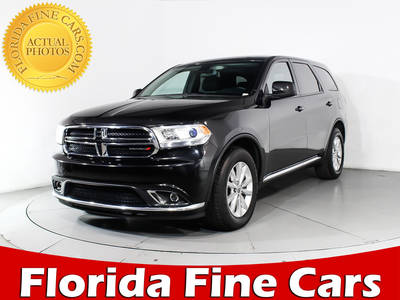 Used DODGE DURANGO 2015 HOLLYWOOD Sxt