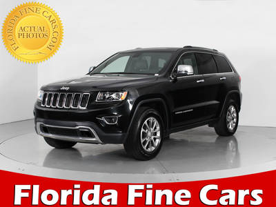 Used JEEP GRAND-CHEROKEE 2015 WEST PALM LIMITED
