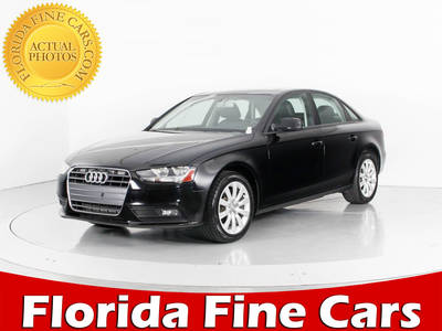 Used AUDI A4 2014 WEST PALM PREMIUM