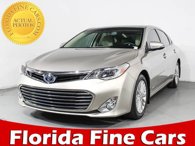 Used TOYOTA AVALON-HYBRID 2013 HOLLYWOOD Limited
