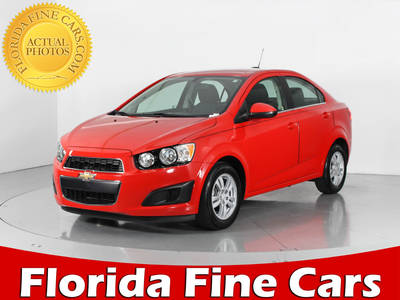 Used CHEVROLET SONIC 2015 WEST PALM LT