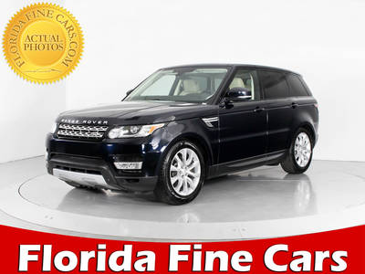 Used LAND-ROVER RANGE-ROVER-SPORT 2015 WEST PALM SUPERCHARGED