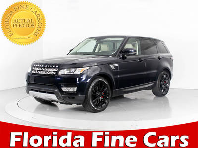 Used LAND-ROVER RANGE-ROVER-SPORT 2015 WEST PALM Supercharged Hse