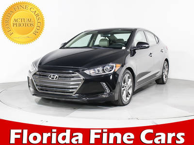 Used HYUNDAI ELANTRA 2017 MIAMI Limited