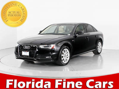 Used AUDI A4 2015 WEST PALM PREMIUM