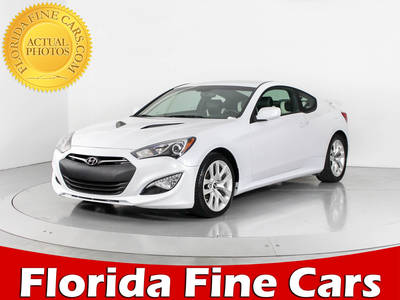 Used HYUNDAI GENESIS-COUPE 2014 WEST PALM 2.0 T