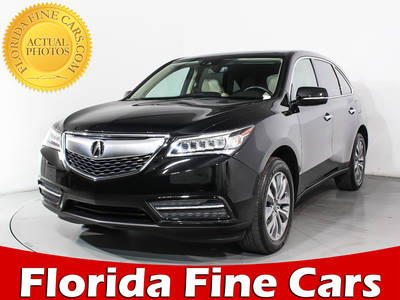 Used ACURA MDX 2016 HOLLYWOOD TECHNOLOGY PACKAGE