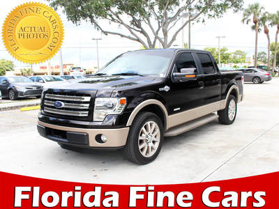 Used FORD F-150 2013 WEST PALM King Ranch